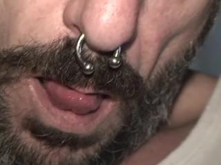 Fucking in a hairy vagina