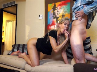 Image Epic MILF caught cheating; Fucks to keep scumbag quiet! (Brandi Love)