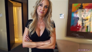 Epic MILF caught cheating; Fucks to keep scumbag quiet! (Brandi Love) Sitting pussy