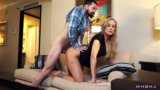 Epic MILF caught cheating; Fucks to keep scumbag quiet! (Brandi Love) Femdom cock