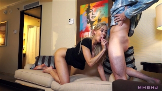 Epic MILF caught cheating; Fucks to keep scumbag quiet! (Brandi Love) First bbc