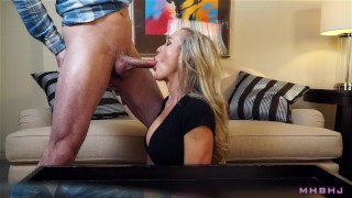 Epic MILF caught cheating; Fucks to keep scumbag quiet! (Brandi Love)  brandi love big tits cim wife mom fucking curvy married swallow mother doggystyle big boobs mark rockwell mhb cum in mouth cum swallow cheating wife
