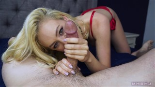 MHBHJ - Lyra  mark rockwell point of view slow teasing blowjob marks headbobbers big cock mhb blonde tattoo piercing cock sucking 60fps mhbhj the pose deep throat edging