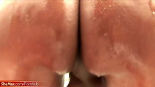 Thick big ass strokes ladystick tranny whips out hard it and hd masturbate