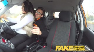 Fake Driving School Nerdy redhead teen student fucked to creampie orgasm  big nipples hairy ginger pussy redhead teen british glasses creampie redhead big-ass blowjob pov schoolgirl young fakedrivingschool student fake taxi orgasm teenager