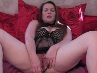 Mommy Fucks Her Pussy and Ass While Giving You Jerk Off Instructions