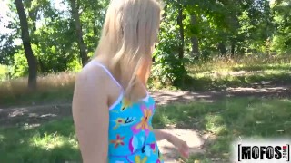 Teen cute blond gets fucked mofos outdoors alana moon young hardcore