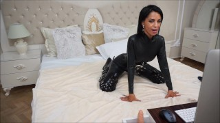 Anisyia Livejasmin full latex and extreme high heel boots pussy penetration  big-tits huge big-ass tattoo big-boobs fetish round-ass kink romania brunette petite small waist extreme high-heels round-tits fitness models fuck latex catsuit