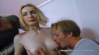 Gets by double assfucked blonde two guys penetrated and naughtynoughties ass