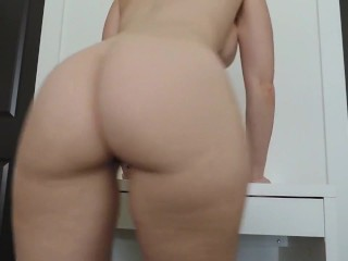 she really wants you to jerk to her ass