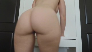 she really wants you to jerk to her ass Tribbing brunette