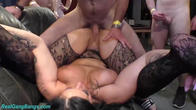 Ashley lace porn star - Hot flexi gangbang babe ashley cum star
