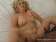 Milf Stacey Gets Her Tummy Jizzed On