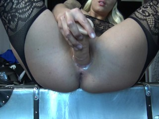 ACAB – All Cops Are Bitches – Blonde Horny French Teen In Police Costum