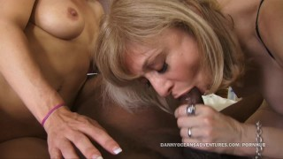 Roxanne hall docean hartley legends nina cock black split and by fuck 3some