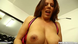 On squirts and sucks busty ferrari a pov nicky cock it busty milf