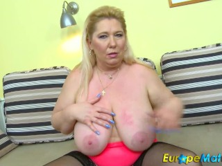 Europemature busty granny lacey has wet cunt 2