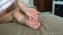 Barefeet and soles