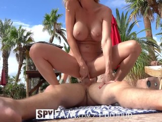 Moms On Film Mom SpyFam Busty step mom Alexis Fawx corrupts her step son