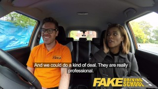 Fake Driving School young ebony learner enjoys creampie for free lessons  ebony teen black girl big black booty creampie big-tits shaved-pussy funny ebony black english cum-inside fakedrivingschool reality butt petite orgasm british student young black teen