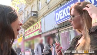 BoxTruckSex - Lesbian seduces straight girl in public - Massage Gone Wild  lesbian seduction boxtrucksex girl on girl public sex toys russian lesbian fingering lesbian oralsex lesbian toys european big tits fingering invisible sex lesbian public outside natural tits massage