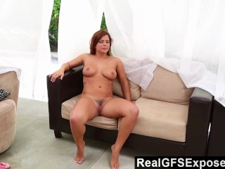 Realgfsexposed keisha gets her best orgasms when she frigs on cam