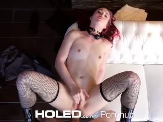 HOLED Kinky bondage fetish with Kat Monroe leads to rough anal