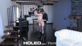 Kat bondage rough leads with monroe holed to anal kinky fetish ass ass