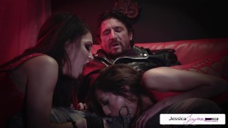 Jessica Jaymes - Perfec threesome whit Jessica Chloe and Tommy Gun