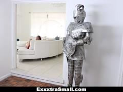 ExxxtraSmall – Super cute petite teen rides strangers big cock