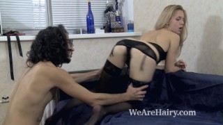 Sex lover has alecia incredible fox with her blindfold blowjob