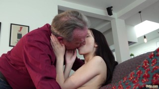 Porn girlfriend innocent grandpa sweet and by old gets fucked young young amateur