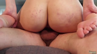 Old and Young Porn - Sweet innocent girlfriend gets fucked by grandpa Amateur bbw