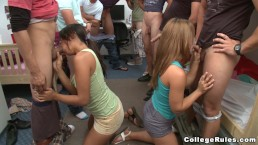 College Pranks at Fontanta Hall with Horny Teen Students (cr8377)