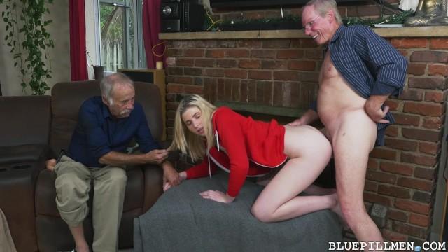 секс внучек и дедов