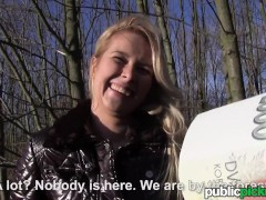 Mofos - Euro Blonde Bangs Outdoors