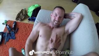 Buries wild his jared herst menpov adam in dick skin sex