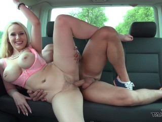 Very Petite Nude Girls Takevan - Extremely Dumb Original Blonde With Big Boobs Fucked Hard In Car