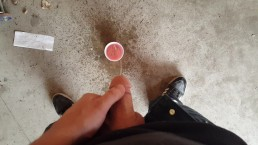 Quick Piss In Red Solo Cup