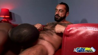 Tom lance blowjobs and interracial for hairy tattoo