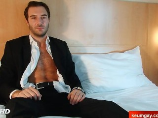 Stefan innocent straight vendor serviced his big cock by a guy!