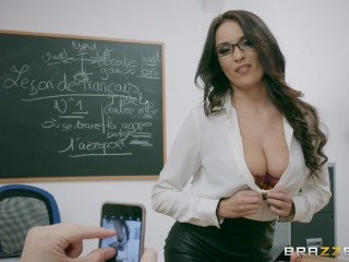 What Is The Difference Between Making Love And Fucking Naughty French teacher Anissa Kate loves anal