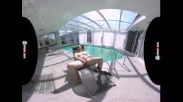 sexy BBW Milf feels so good at the pool