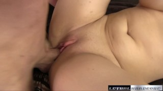 Natasha comes back to get her huge tits fucked Smalltits fuck