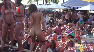 Key pool contest west in bar wet party naked pussy party asian