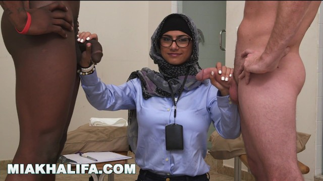 Compare pills for penis Arab mia khalifa compares big black cock to white penis