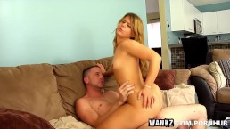 WANKZ- Petite Elizabeth Takes Her Biggest Dick