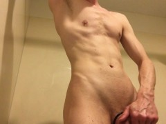 enjoying his slick thick wet cock, BROMOCAMS.COM , best head college guy
