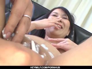 Sexy xxx Japanese scenes with naked Saya Fujimoto