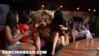 Party Party Party with the Muthafucking Dancing Bear! (db10128)  bang bros bangbros party ggw milf girls-gone-wild stripper group bear dancingbear dancing-bear male stripper crazy db10128 girlsgonewild wild